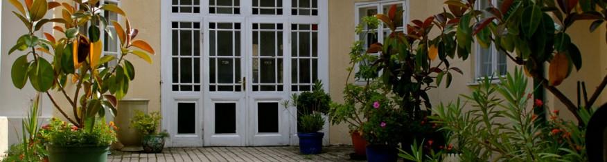 Pension Margit in Baden - Das Haus – Pension Garni